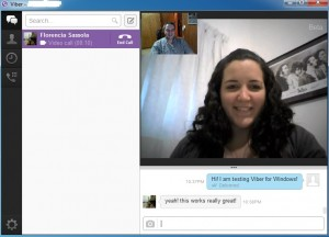 Viber Desktop Video Conference