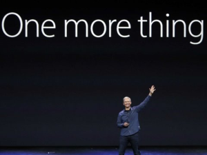 Apple: One More Thing…about your streaming