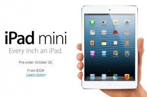 Apple event sum up: iPad Mini and refresh of Mac line