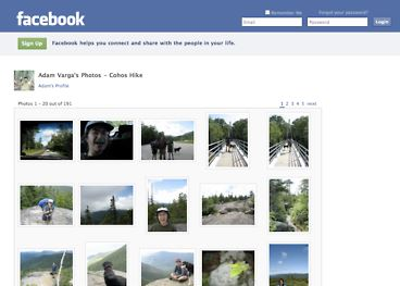 Facebook chronological order of pictures in albums
