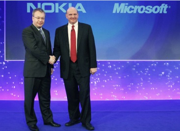 Microsoft buys Nokia Mobile and maybe gets their new CEO with it?