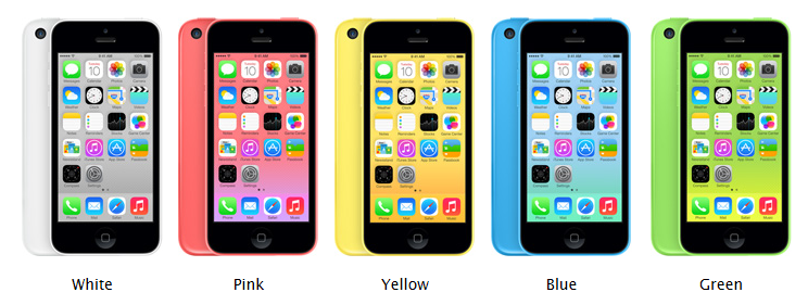 Its official, Apple announced the iPhone 5c and iPhone 5s