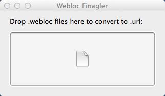 Easily convert .webloc files to .url in OSX